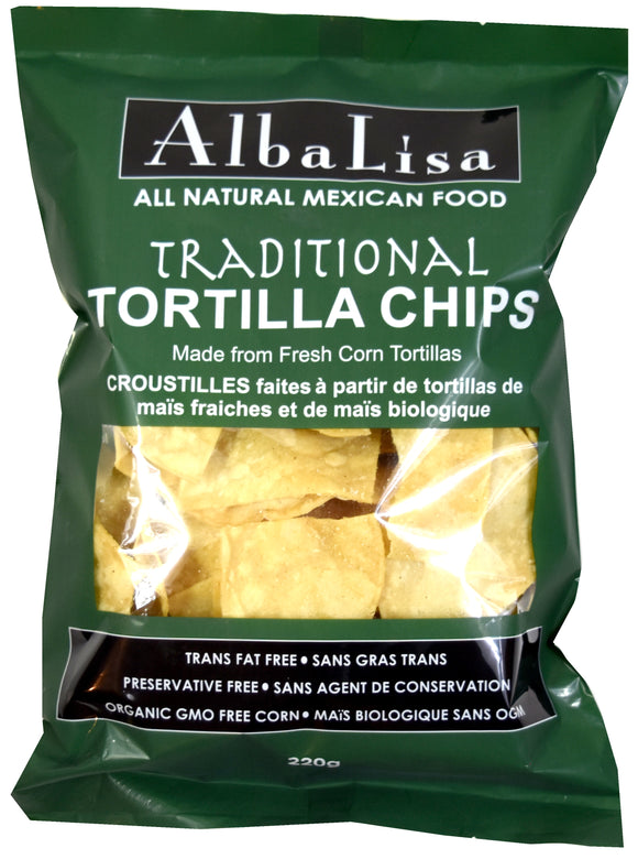 Alba Lisa Traditional Tortilla Chips 220g