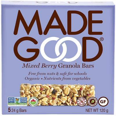 Made Good Mixed Berry Granola Bar - 5x24g