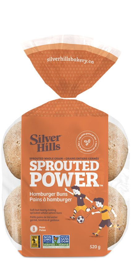 Silver Hills Sprouted Whole Grain Burger Buns