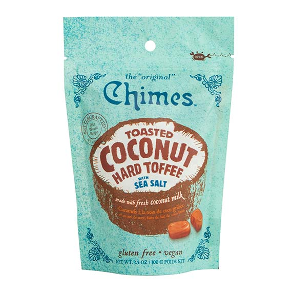 Chimes Toasted Coconut Hard Toffee - 100g