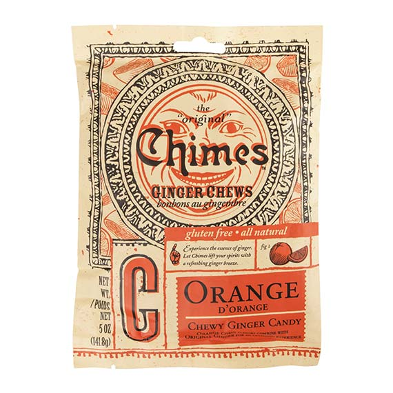 Chimes Orange Ginger Chews - 142g