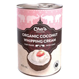 Cha's Organics Coconut Whipping Cream