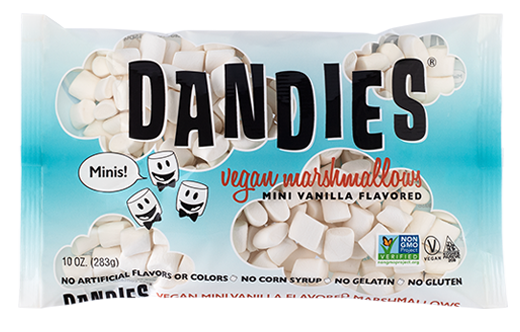 Dandies Mini Vegan Vanilla Marshmallows - 283g
