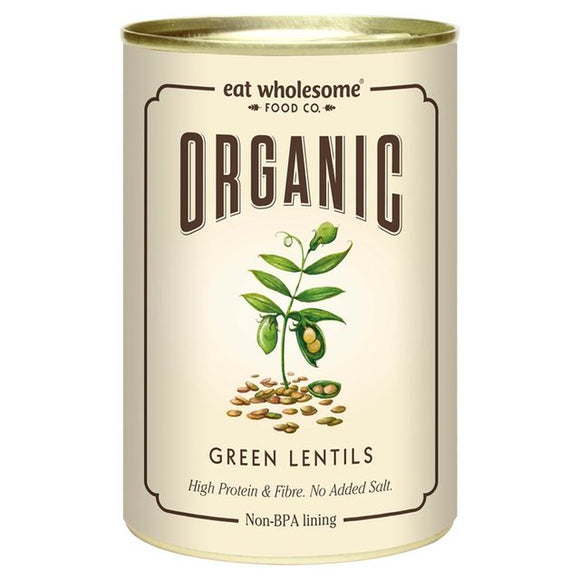 Eat Wholesome Organic Green Lentils