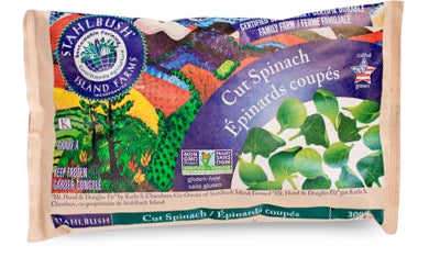 Stahlbush Island Farms Cut Spinach