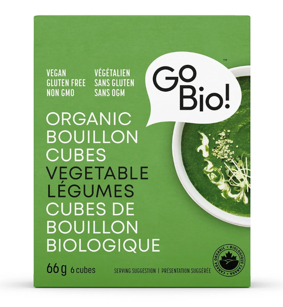 Go Bio! Organic Bouillon Cubes – Vegetable