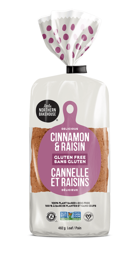 Little Northern Bakehouse Cinnamon & Raisin Gluten-Free Bread