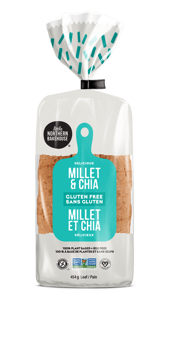 Little Northern Bakehouse Millet & Chia Gluten-Free Bread