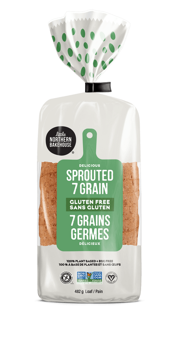 Little Northern Bakehouse Sprouted 7 Grain Gluten-Free Bread