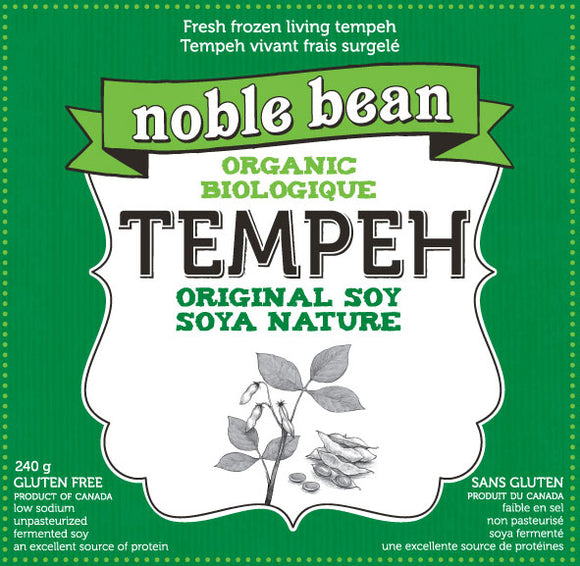 Noble Bean Organic Tempeh - Original Soy