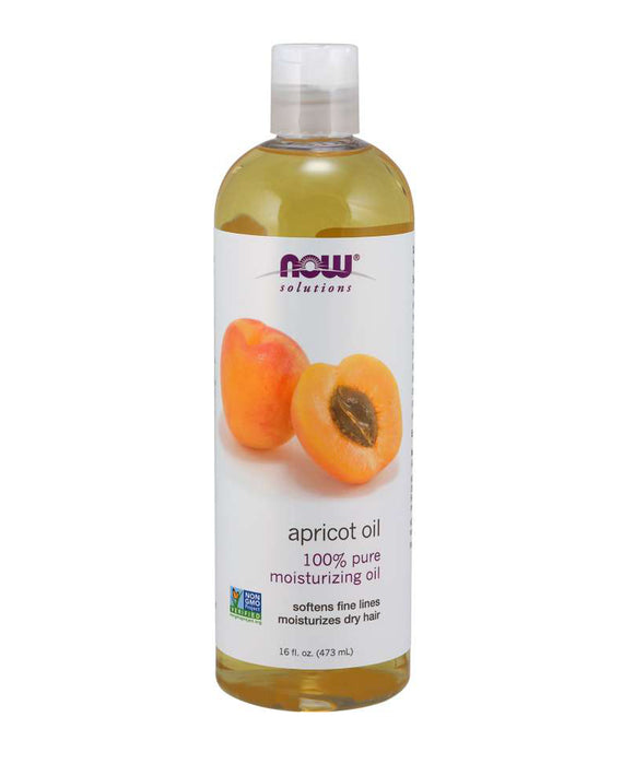 Now Solutions - Apricot Kernal Oil - 473ml