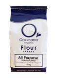 Oak Manor Organic Hard Whole Wheat Bread Flour