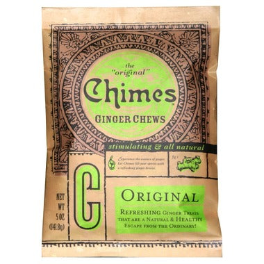 Chimes Original Ginger Chews - 142g