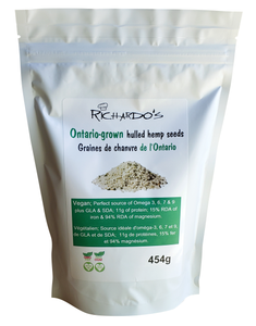 Richardo's Hulled Hemp Seeds