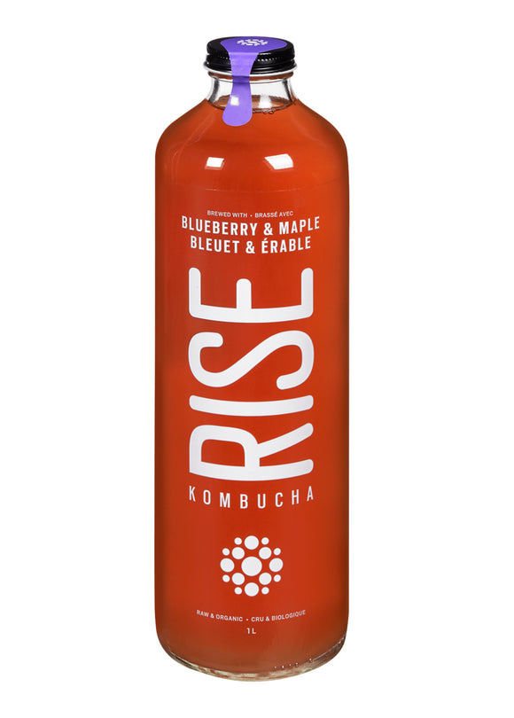 Rise Kombucha Blueberry Maple 1L
