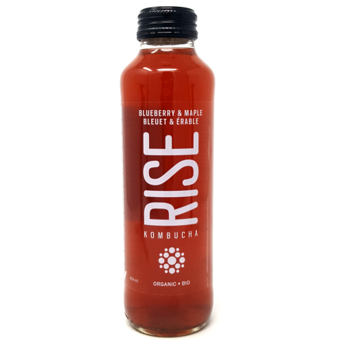 Rise Kombucha Blueberry Maple 414ml