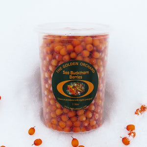 The Healing Arc Sea Buckthorn Berries