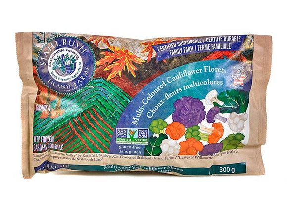 Stahlbush Island Farms Multi-Coloured Cauliflower Florets