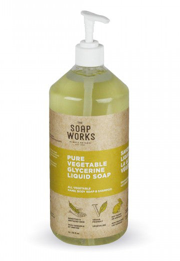 The Soap Works Liquid Glycerine Soap - 1L