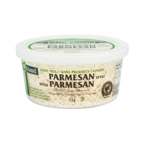 Earth Island Shredded Parmesan Cheese - 113g