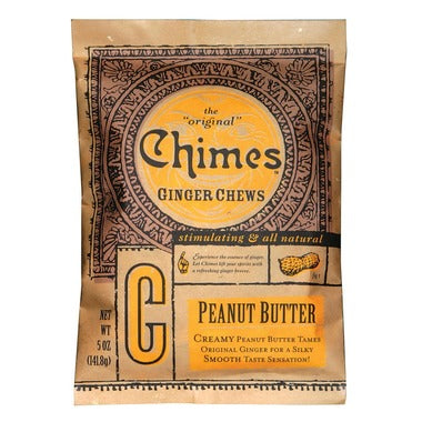 Chimes Peanut Butter Ginger Chews - 142g