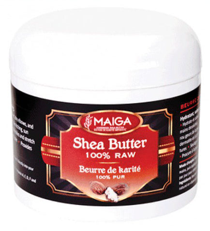 Maiga 100% Organic Raw Shea Butter - 118ml
