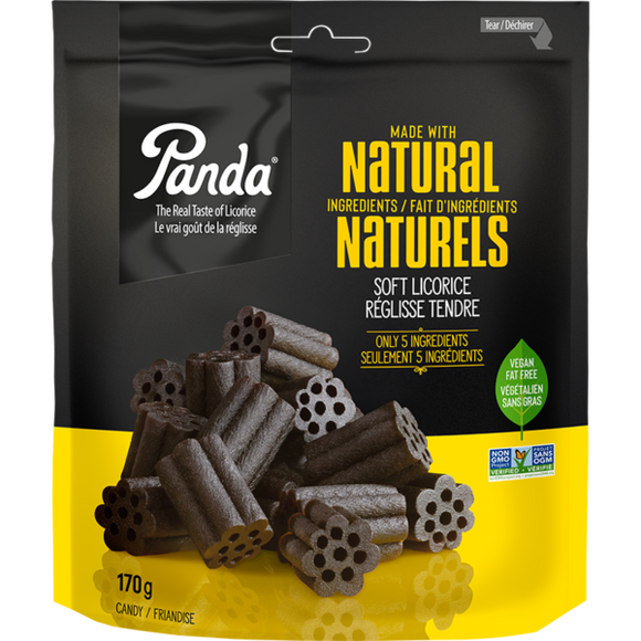 Panda Natural Soft Licorice - 170g