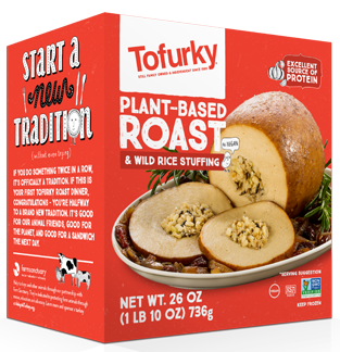 Tofurky Plant-Based Roast & Wild Rice Stuffing