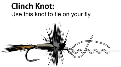 knot to tie on a fly