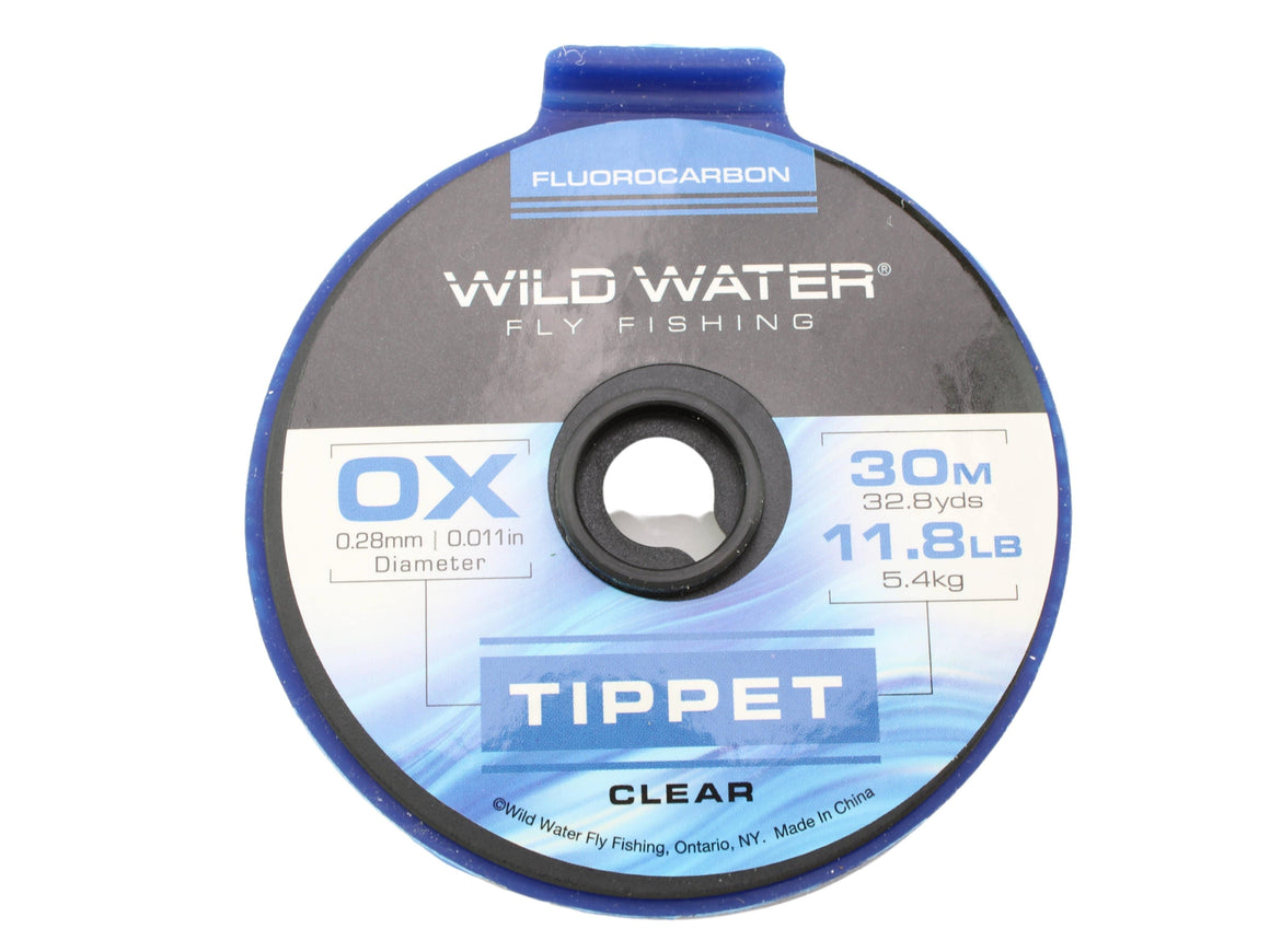 Fluorocarbon Tippet 0X | Wild Water Fly Fishing