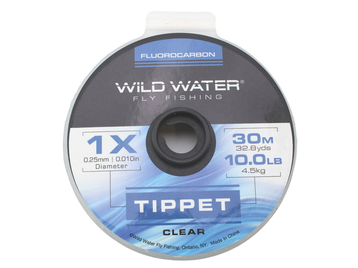 Fluorocarbon Tippet 1X | Wild Water Fly Fishing