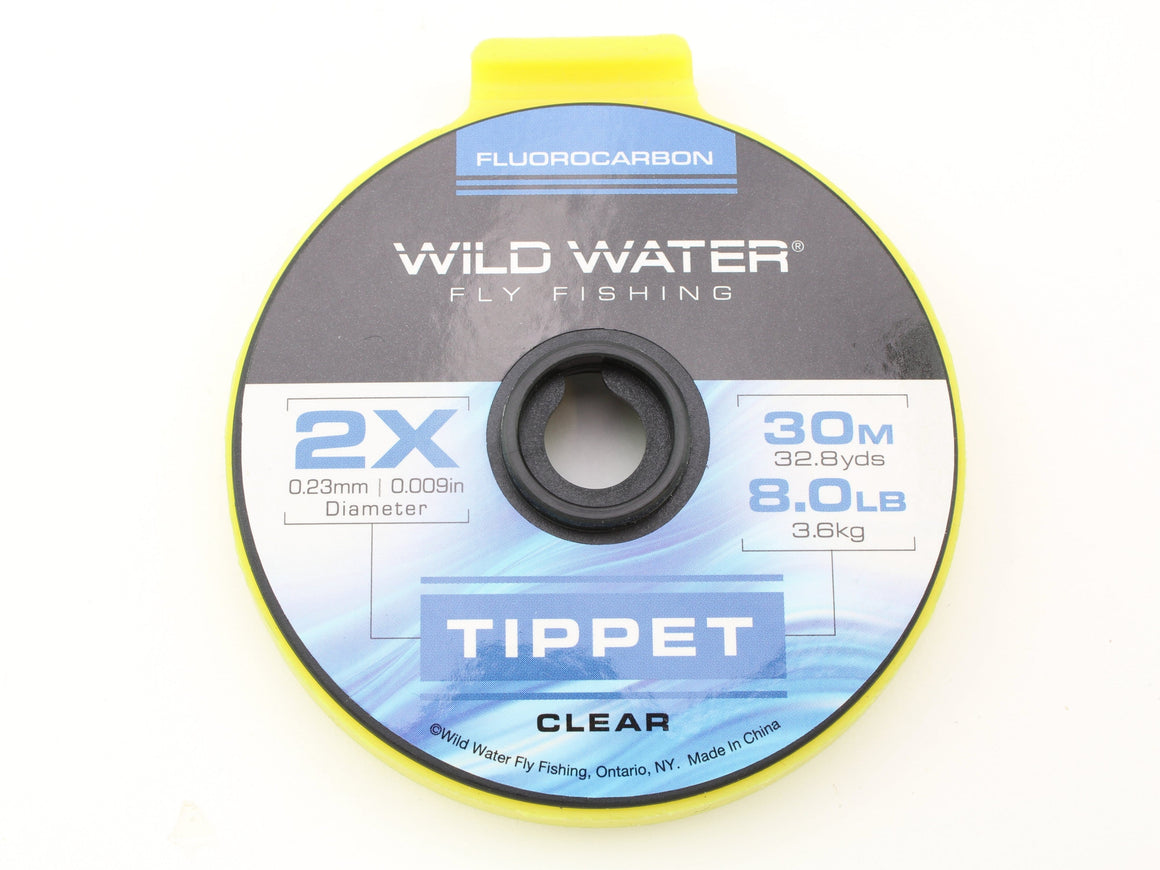 Fluorocarbon Tippet 2X | Wild Water Fly Fishing