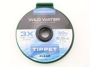 Fluorocarbon Tippet 3X | Wild Water Fly Fishing