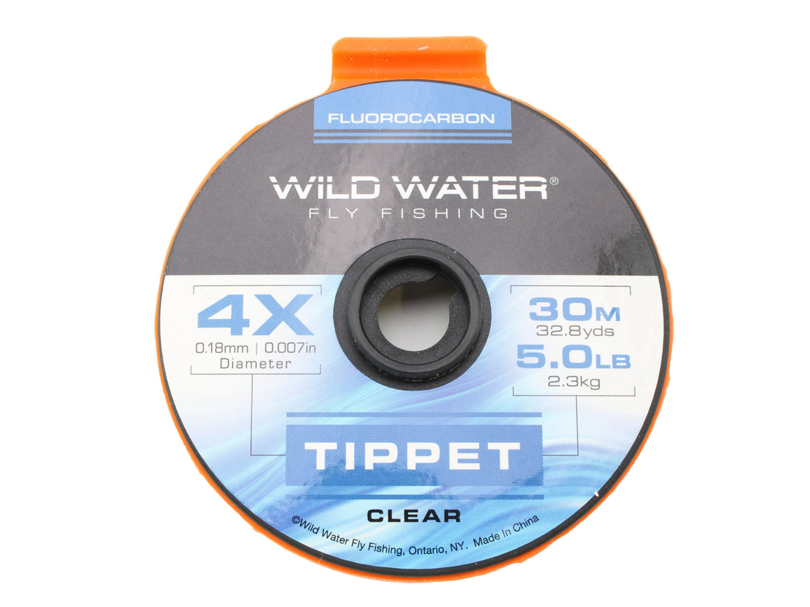 Fluorocarbon Tippet 4X | Wild Water Fly Fishing