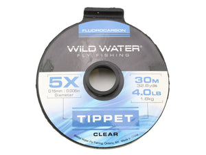 Fluorocarbon Tippet 5X | Wild Water Fly Fishing