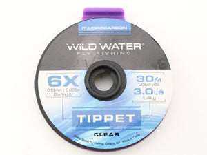 Fluorocarbon Tippet 6X | Wild Water Fly Fishing