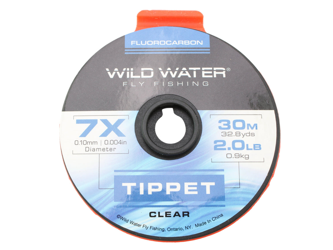 Fluorocarbon Tippet 7X | Wild Water Fly Fishing