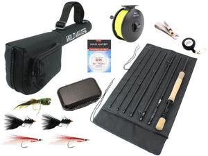 9 Foot, 8 Weight, 7 Piece Fly Rod Package | Wild Water Fly Fishing