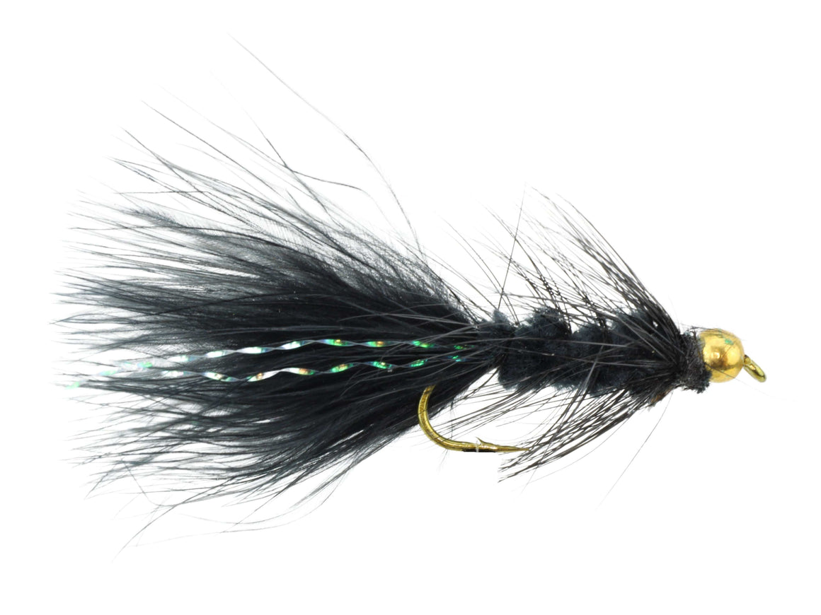 Black Bead Head Wooly Bugger Fly | Wild Water Fly Fishing