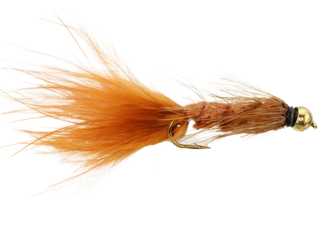 Brown Bead Head Wooly Bugger Fly | Wild Water Fly Fishing