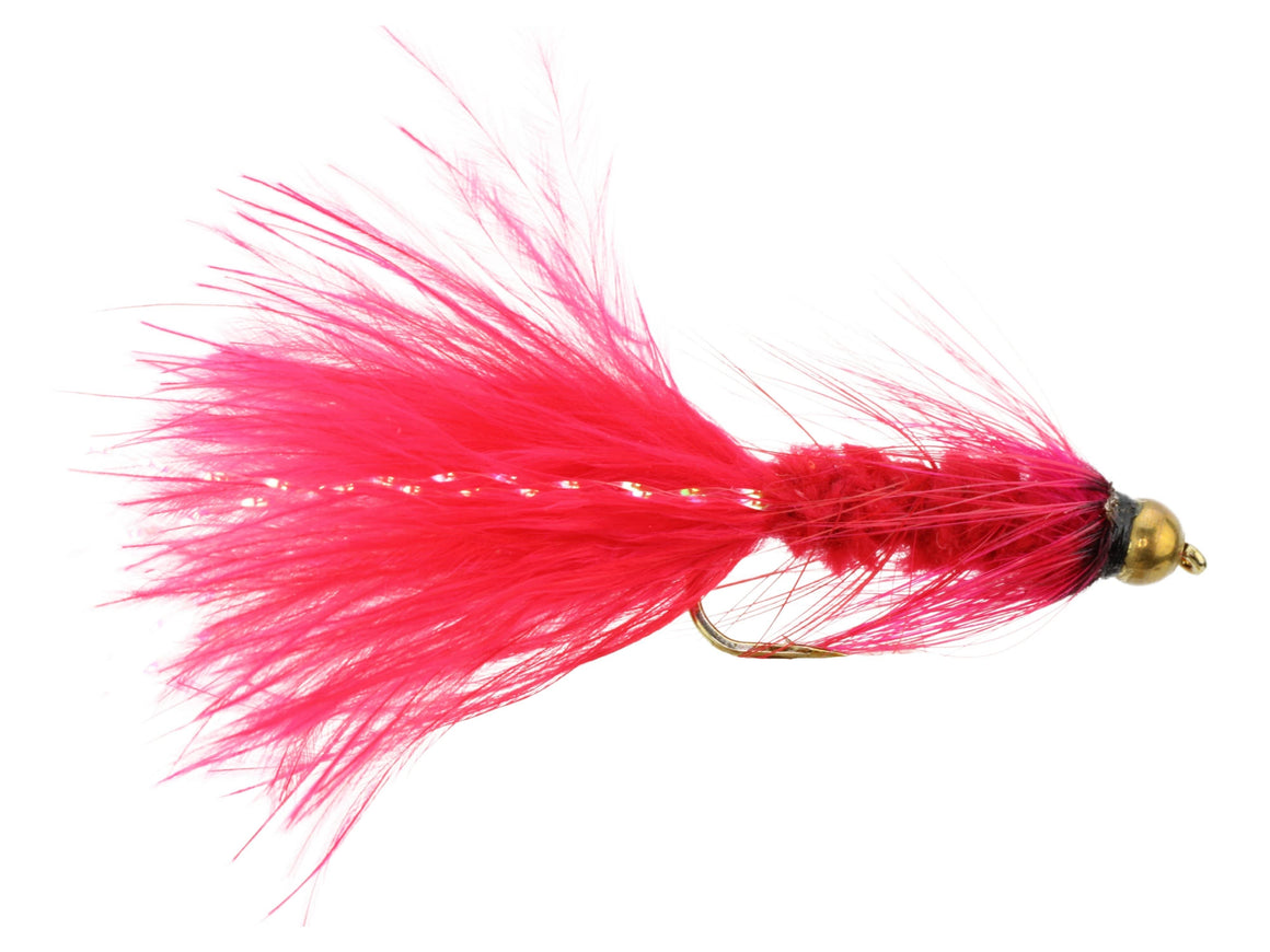 Red Bead Head Wooly Bugger Fly | Wild Water Fly Fishing