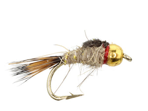 Bead Head Gold Ribbed Hare's Ear Nymph | Wild Water Fly Fishing