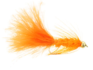 Orange Bead Head Wooly Bugger Fly | Wild Water Fly Fishing