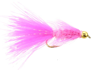 Pink Bead Head Wooly Bugger Fly | Wild Water Fly Fishing