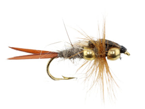 Brown Beaded Stonefly | Wild Water Fly Fishing