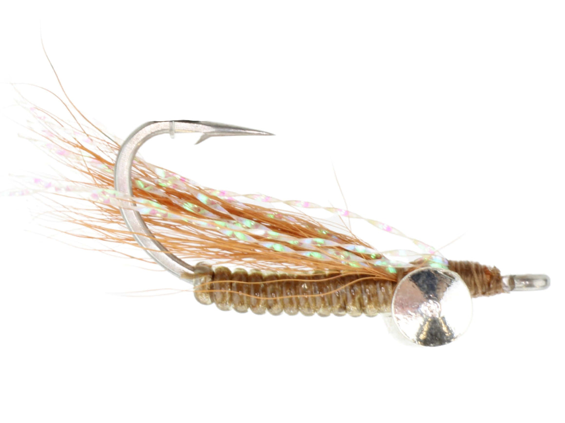 Brown Crazy Charlie Fly Pattern | Wild Water Fly Fishing