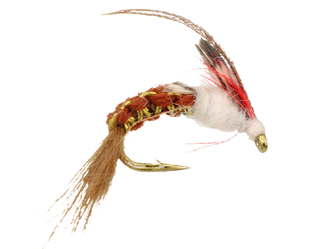 Brown Woven Caddis Fly | Wild Water Fly Fishing