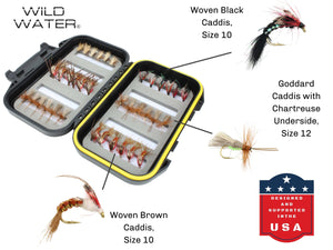 Caddis Fishing Flies Assortment | Wild Water Fly Fishing