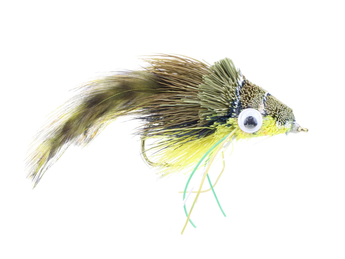 Deer Hair Bass and Pike Frog Diver Fly | Wild Water Fly Fishing