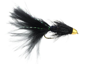 Black Cone Head Wooly Bugger Fly | Wild Water Fly Fishing